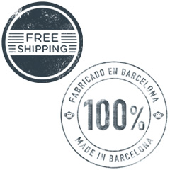 Free Shipping Made in Barcelona