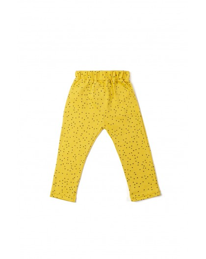 Ochre dots leggings