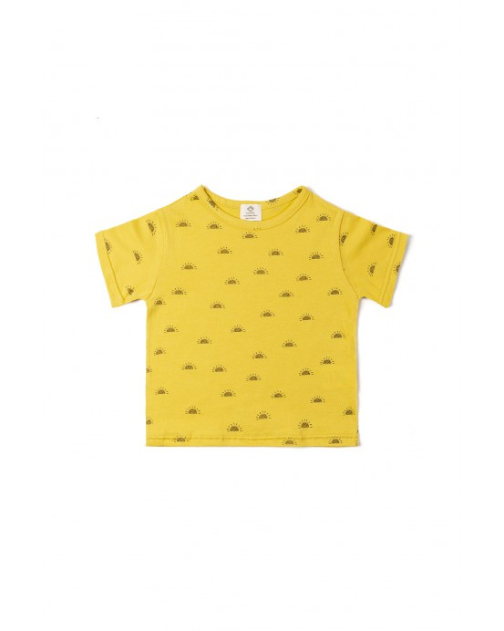 T-shirt sun ochre