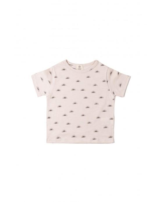 T-shirt sun pink