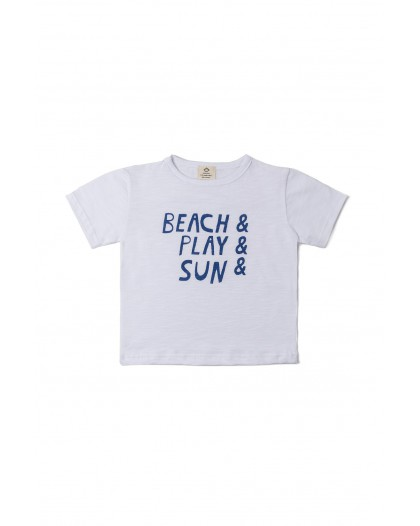 Camiseta flamé Beach