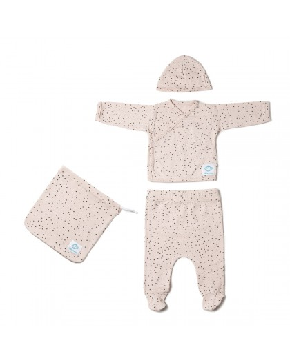 Newborn pack dots pink