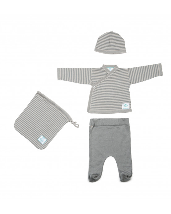 Newborn Pack Grey Dark Grey