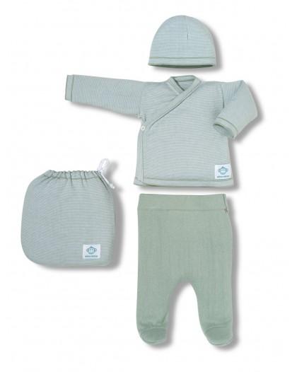 Multi stripes newborn pack...