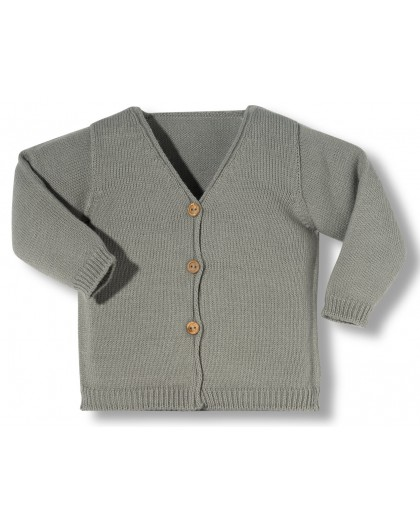 Grey newborn jacket