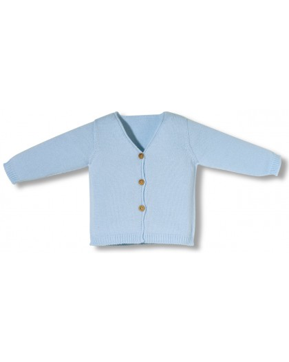 Blue newborn jacket