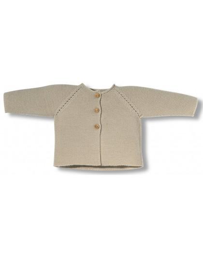 Beig newborn links jacket