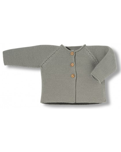 Grey newborn links jacket