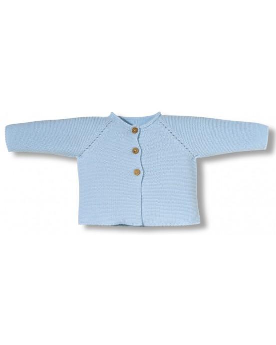 blue newborn links jacket