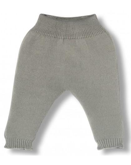 grey knitwear newborn pants
