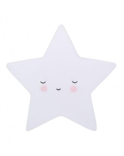 mini luz Estrella blanca