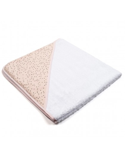 towel pink dots