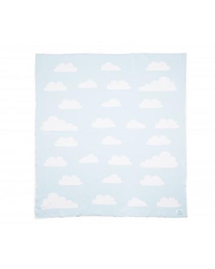 manta nubes celeste