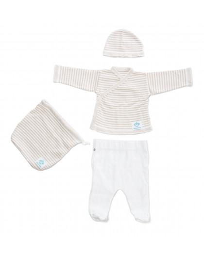 Newborn Pack White Beige