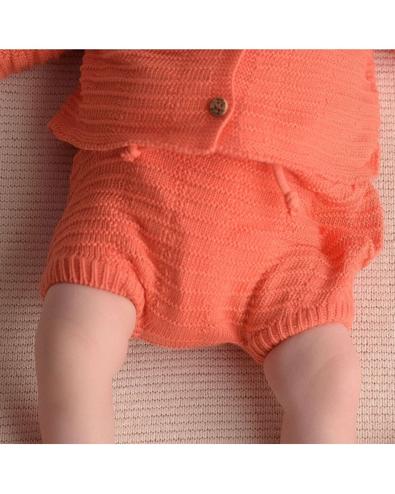 micu micu - Shorts tabillas coral