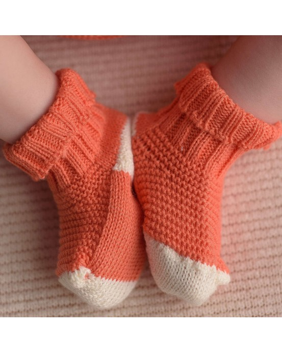 Coral baby sock