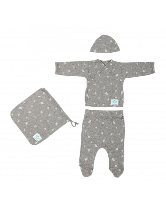 Newborn Pack Indio Dark Grey