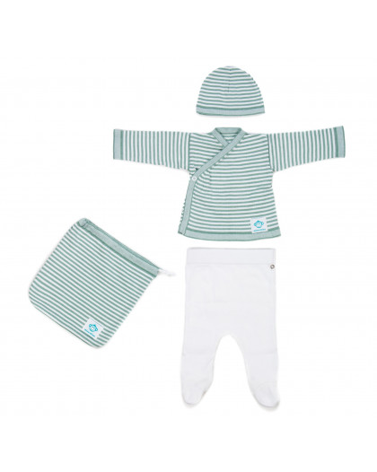 Newborn Pack Mint White