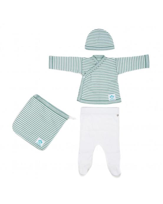 Newborn Pack Mint White
