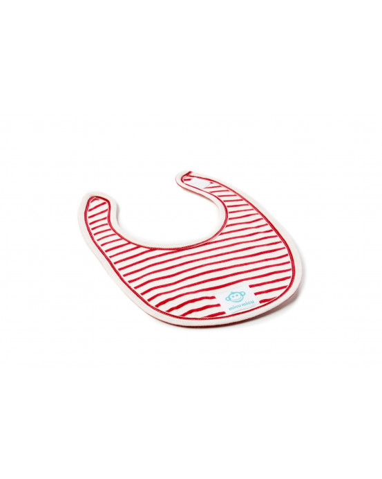 Small Baby Bib Red