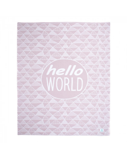 Hello World Pink