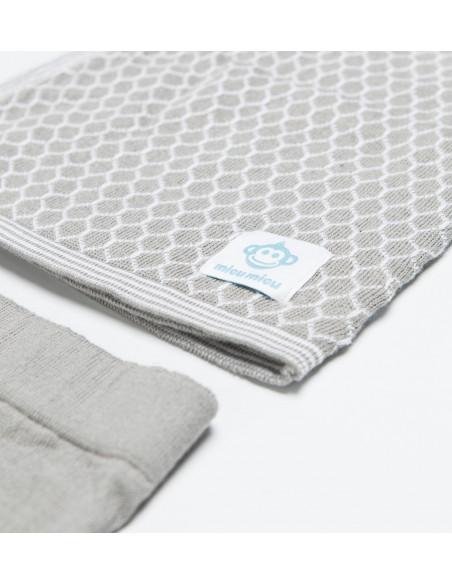 Newborn Pack Abeja Grey