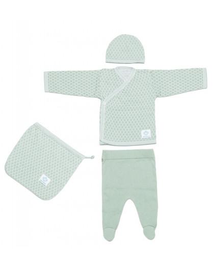 Newborn Pack Abeja Mint
