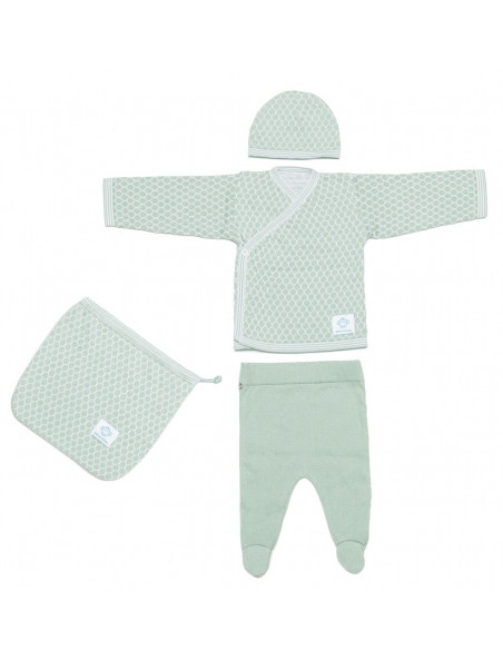 Newborn Pack Abeja Mint