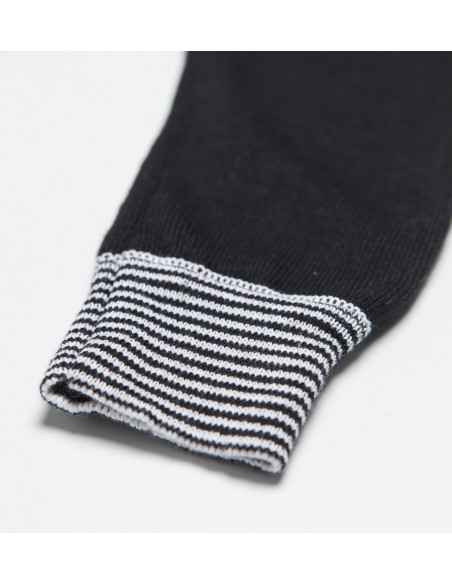 Knitted Baby Pants Rayas Black
