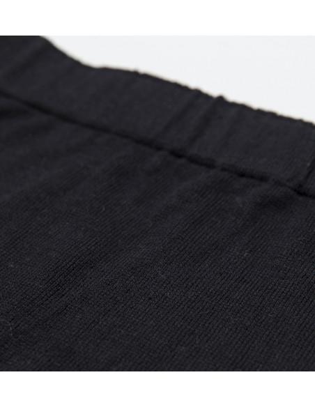 Pantalon Punto Rayas Negro