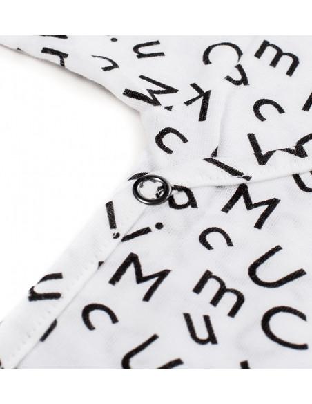 Pack Recien Nacido Letras Blanco