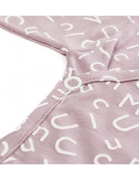Pack Recien Nacido Letras Rosa