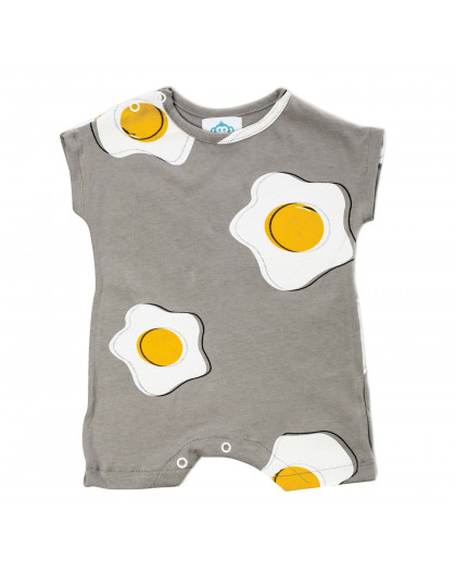 Onesie Egg Grey