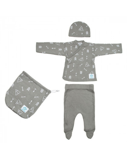 Newborn Pack Tipis Dark Grey
