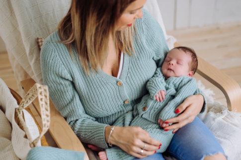 Chaqueta mujer y chaquete bebe micumicu